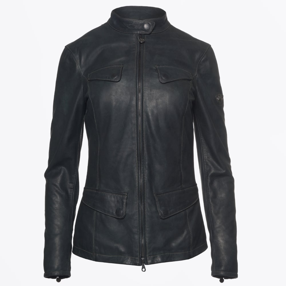 top-rated quality premium selection website for discount Matchless London - Osborne Classic Leather Jacket - Navy