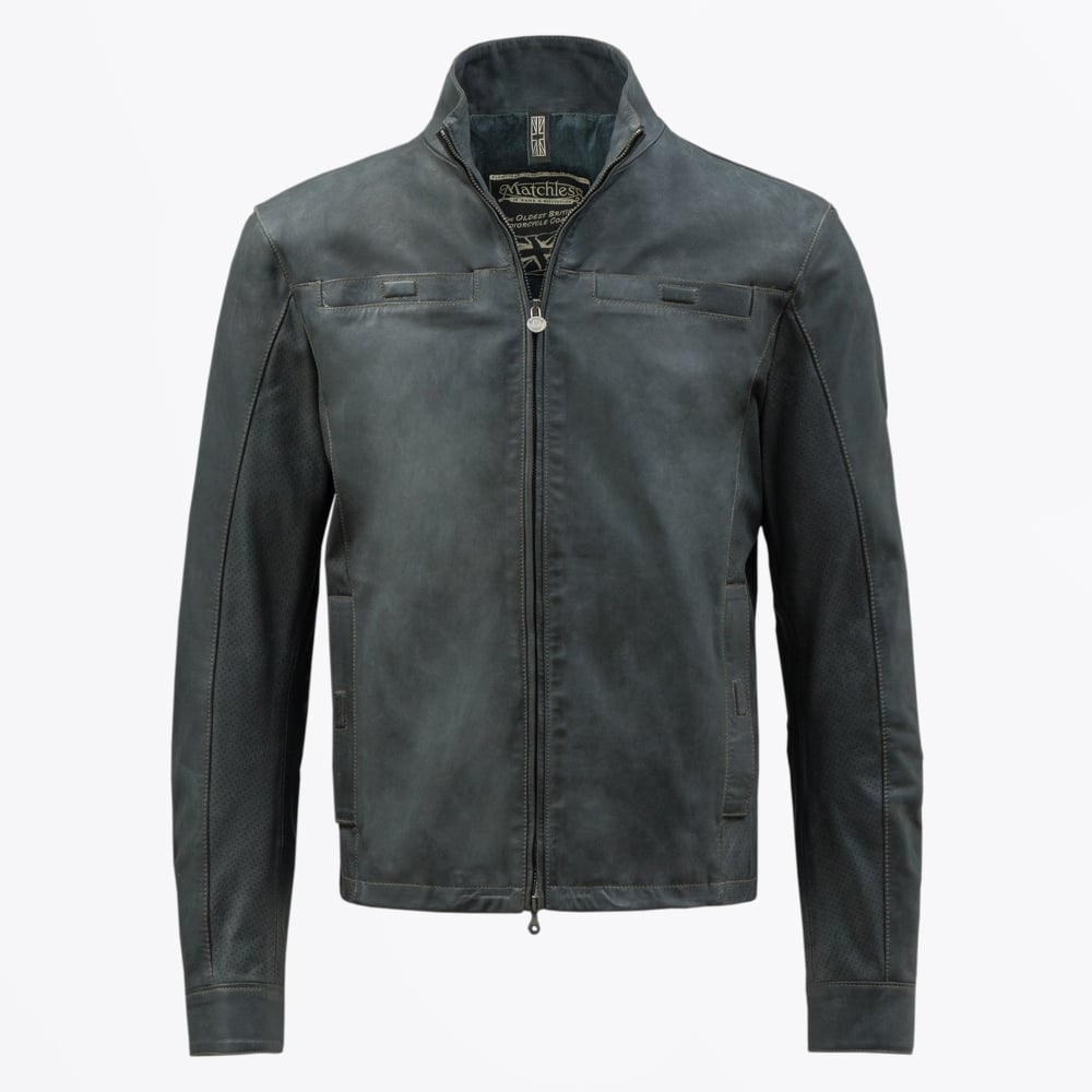 Matchless London   Johnny Blouson Leather - Black   Mr