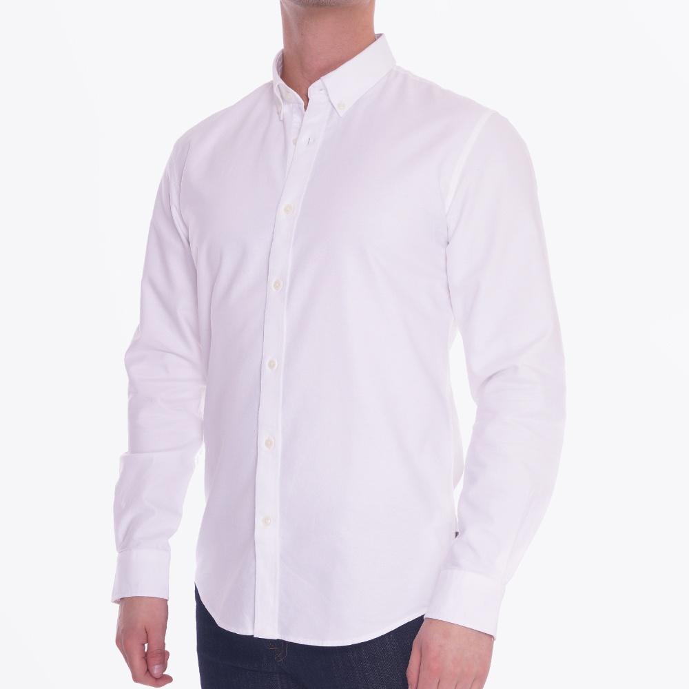 Robon Oxford Shirt White Casual Shirts For Men Matinique