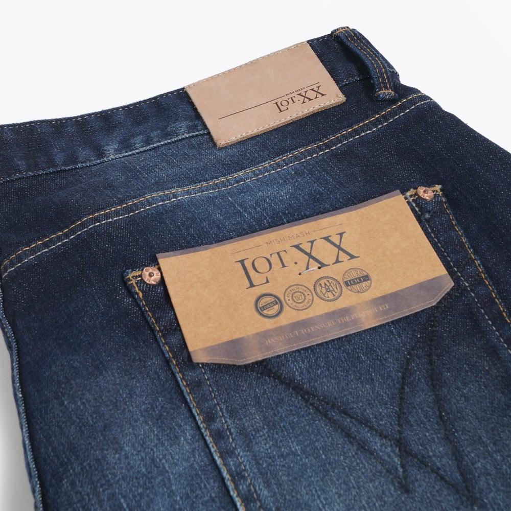 Lot XX Dark Stretch Jeans - Navy  f446d1d2458