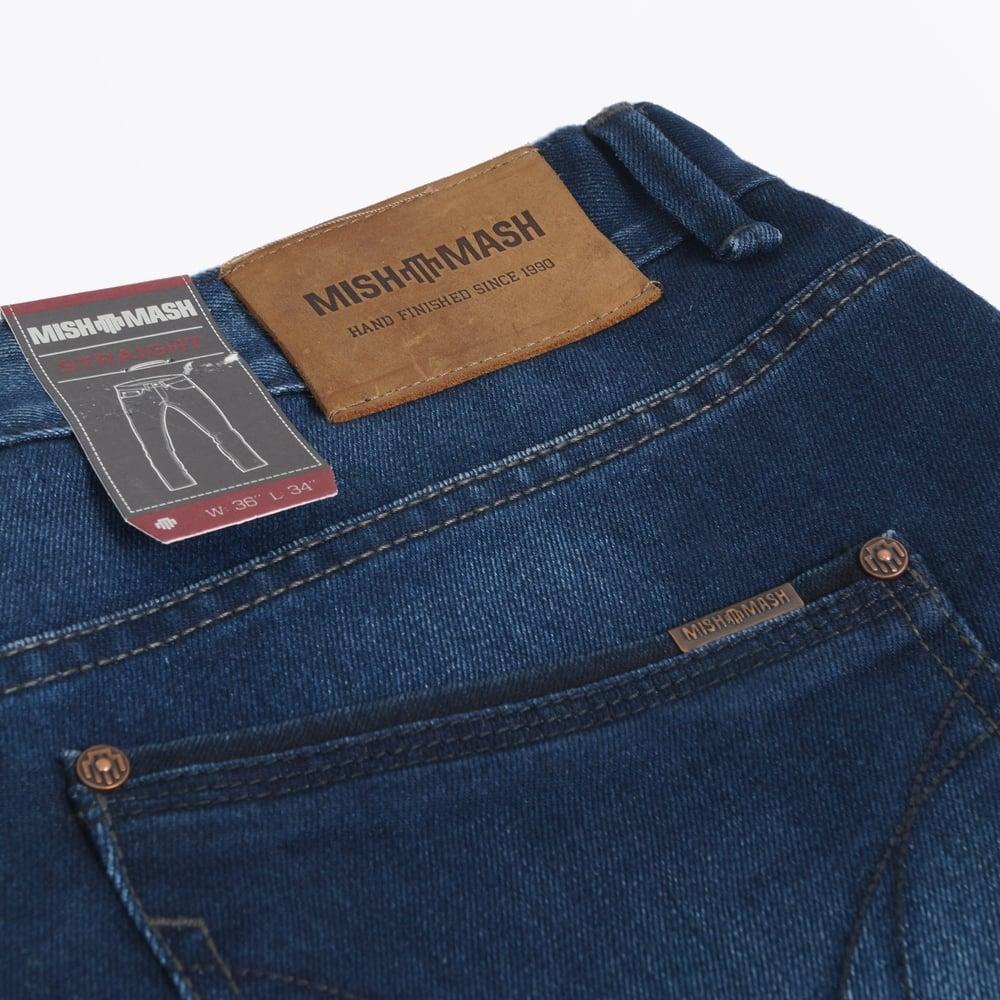 Mickey Straight Leg Jeans - Navy  7270b2fa2cc