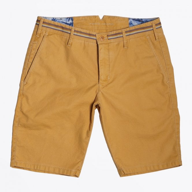 MMX - B-Tigris - Cotton Stretch Bermuda Shorts - Gold