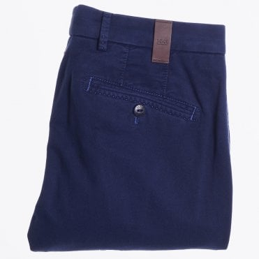 - Lupus - Cotton Kapok Chinos - French Blue