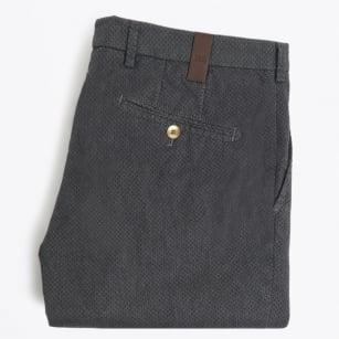   Lupus Small Diamond Print Trousers - Grey