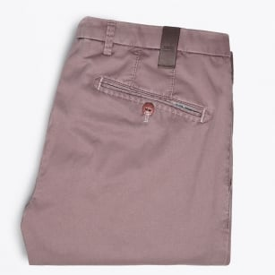 - Lynx Silk Stretch Chino - Rose
