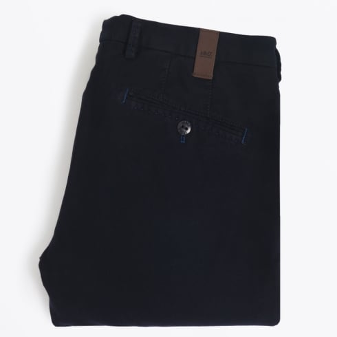 MMX - Lynx Wool Look Trousers - Navy