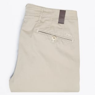 - Rex Silk Stretch Chino - Beige