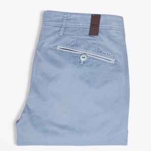 - Rex Trim Detail Chinos - Blue
