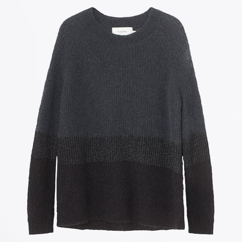 Munthe - Oil Crew Knit Jumper - Charcoal