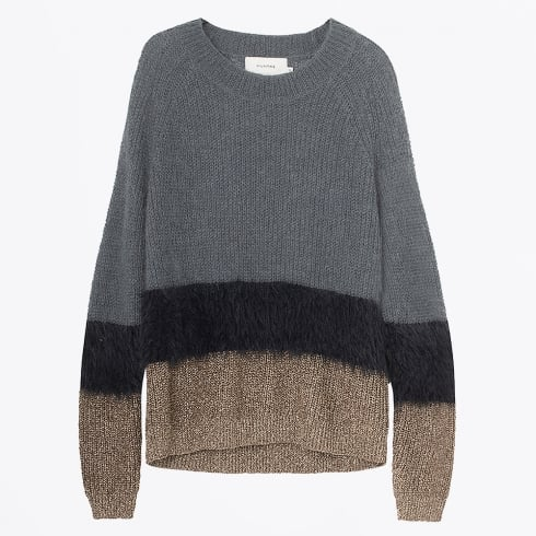 Munthe - Ole Mohair Crew Neck Knit Jumper - Charcoal