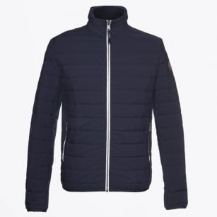 | Acalmar Comfort Quilted Jacket - Navy