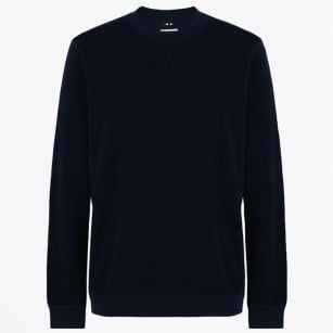 - Bryce Reversible Sweater - Blue Marine