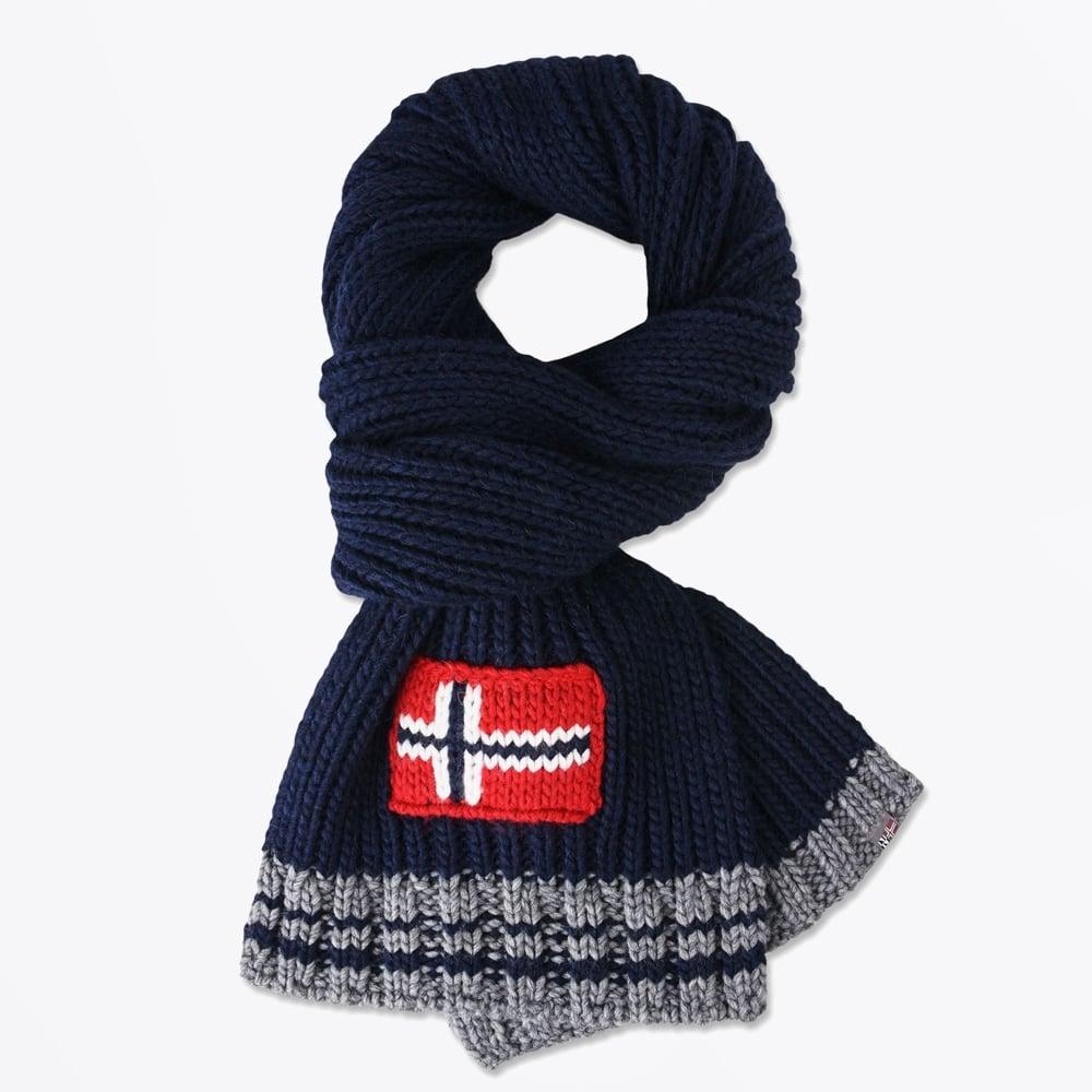 Napapijri - Foreil Scarf - Blu Marine - Mr   Mrs Stitch 15530e6f23c