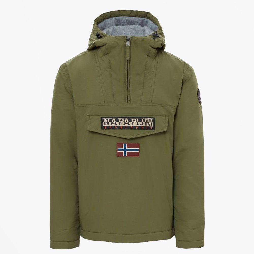 Napapijri - Rainforest Winter Jacket - Green - Mr   Mrs Stitch 7fc54d08ddab