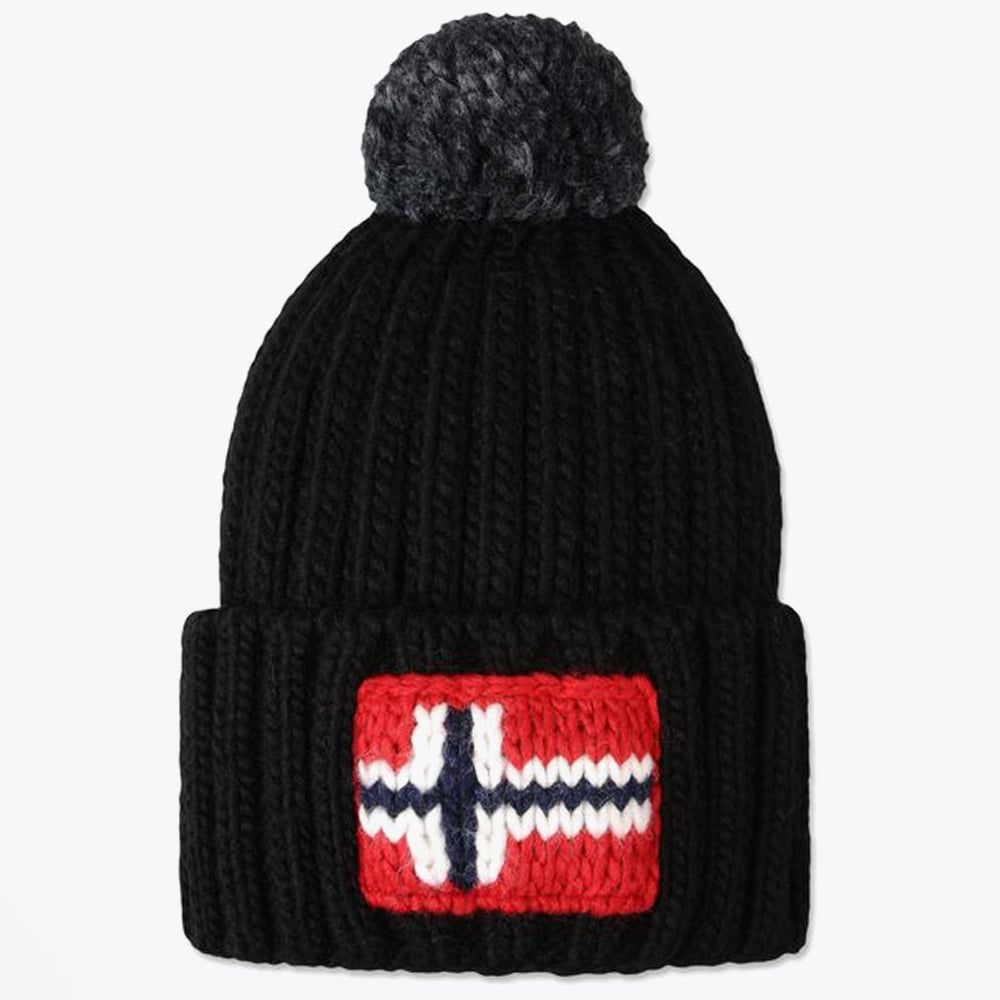 45cb92445c6 Semiury Bobble Hat - Black