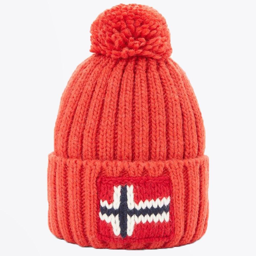 abbae0ab6cc Napapijri - Semiury Bobble Hat - Orange - Mr   Mrs Stitch
