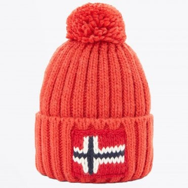 - Semiury Bobble Hat - Orange