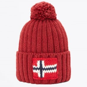 - Semiury Bobble Hat - Red
