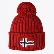 - Semiury Bobble Hat - Sparkling Red