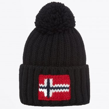 - Semuiry Bobble Hat - Black