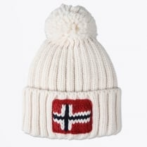 - Semuiry Bobble Hat - Bright White