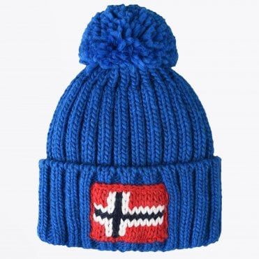 - Semuiry Bobble Hat - Medium Blue