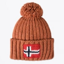 - Semuiry Bobble Hat - Rusty