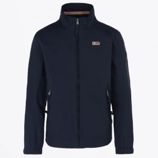 - Shelter Water Repellant Jacket - Blu Marine