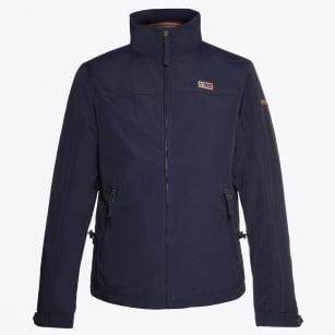 | Shelter Zip Front Jacket - Navy