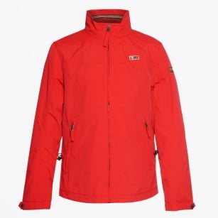 | Shelter Zip Front Jacket - Red
