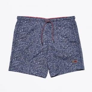 | Vail Printed Swim Shorts - Blue