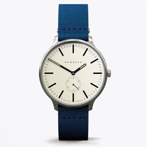 Newgate Watches - Blip Canvas Strap - Blue