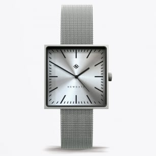 - Cubeline - Square Face Watch - Steel