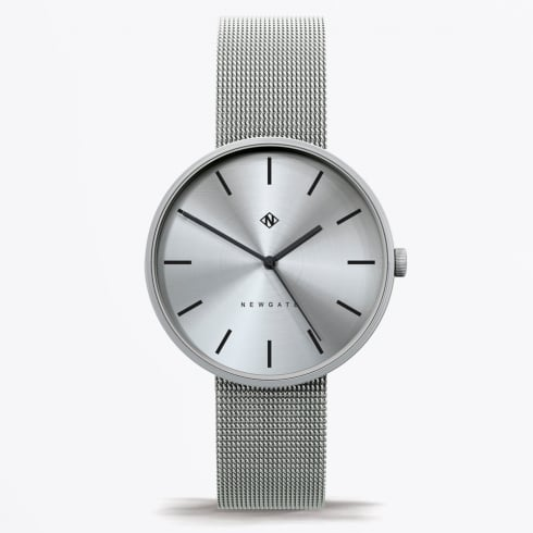 Newgate Watches - Drumline - Steel Mesh Strap Watch