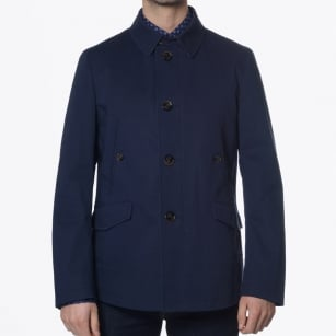 | Damon Short Single Breasted Jacket - Navy