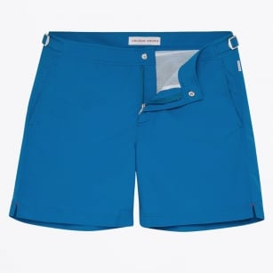 | Bulldog Mid Length Swim Shorts - Blue