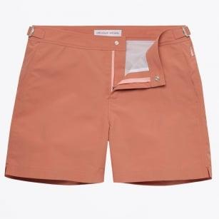 | Bulldog Swim Shorts - Rosewood