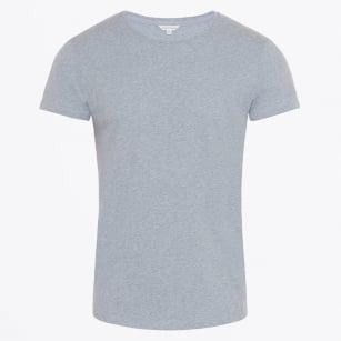 | OB-T Round Neck T-Shirt - Bluestone