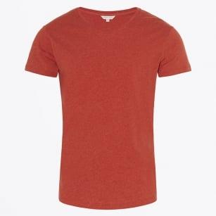 | Pomodoro Round Neck T-Shirt - Red