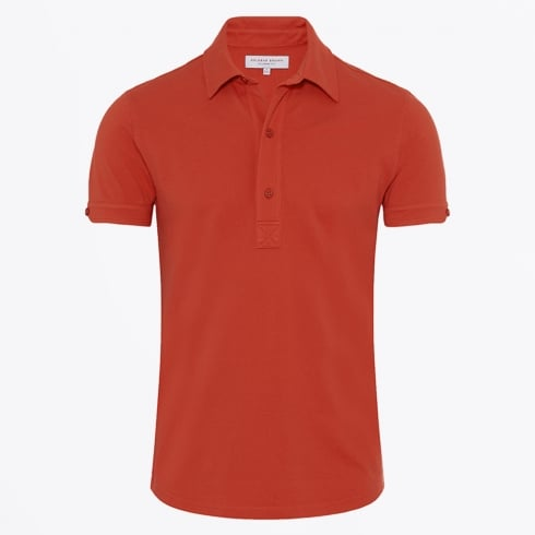 Orlebar Brown - Sebastian Tailored Pomodoro Polo - Red