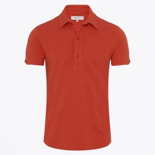 - Sebastian Tailored Pomodoro Polo - Red