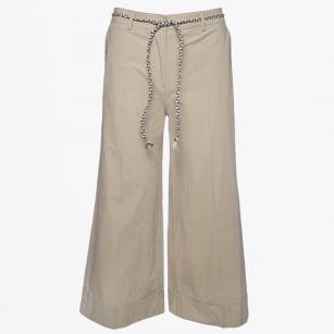 | Belted Culottes - Beige