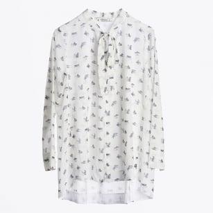 | Fancy Viscose Blouse - White