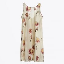 - Flower Print Sun Dress - Unica