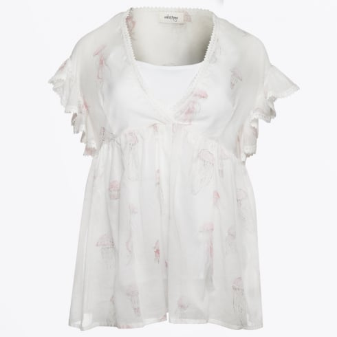 Ottod'Ame - Jellyfish Smock Top - Unica
