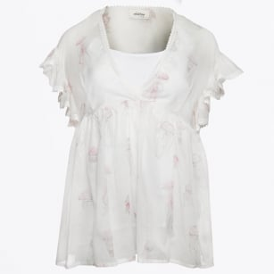 | Jellyfish Smock Top - Unica