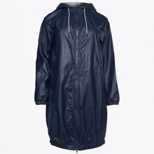 | Navy Rain Coat - Unica