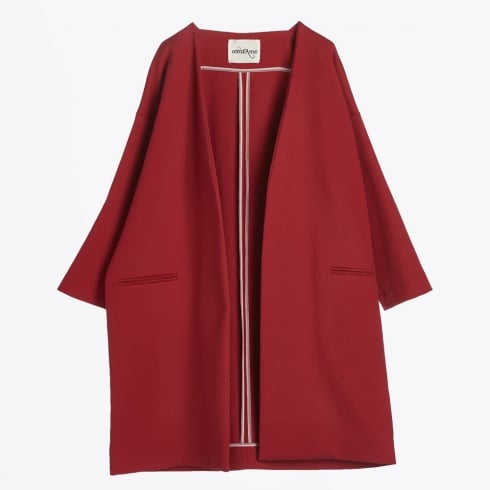 Ottod'Ame - Oversize Coat - Rosso