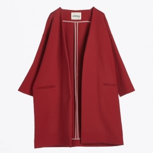 | Oversize Coat - Rosso