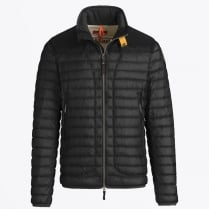 - Arthur Lightweight Puffer Jacket - Black